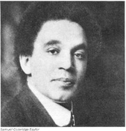 Samuel Coleridge-Taylor page with free midi's to download